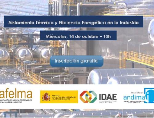 """Jornada IDAE """"Aislamiento Térmico y Eficiencia Energética en la Industria"""""""